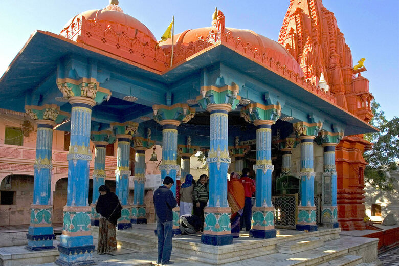Pushkar Brahma Temple – Pushkar, India - Atlas Obscura