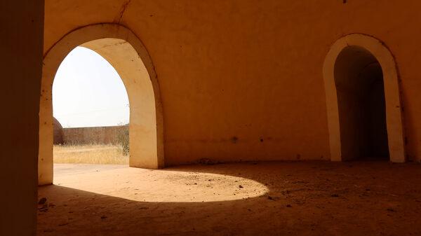 Abandoned Resort in Kaédi, Mauritania