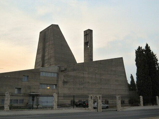 Brutalist Church of Podgorica