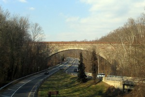 Union Arch Bridge, today.