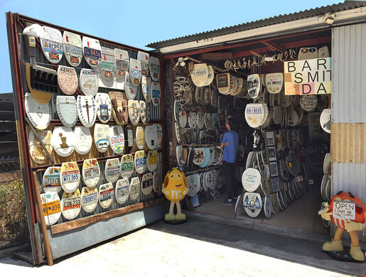 Barney Smith's Toilet Seat Art Museum – San Antonio, Texas