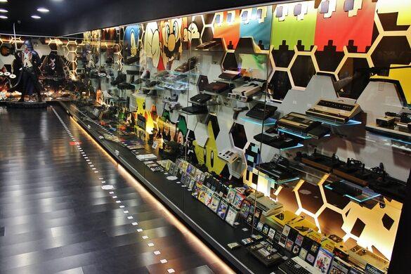 Gamers El Moro Video Game Museum