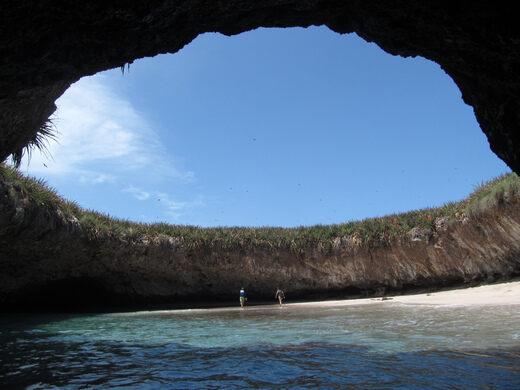 Hidden Beach – Islas Marietas, Mexico - Atlas Obscura