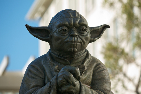 yoda fountain san francisco california atlas obscura. Black Bedroom Furniture Sets. Home Design Ideas