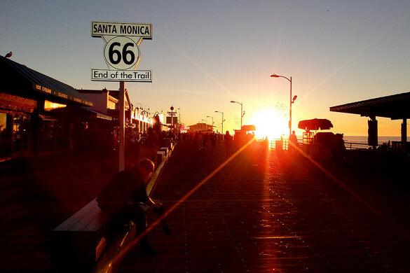 Route 66: End of the Trail – Santa Monica, California
