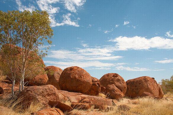 Devil S Marbles Davenport Australia Atlas Obscura