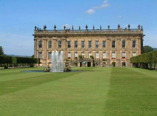 Chatsworth House Derbyshire England Atlas Obscura