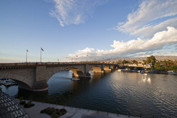 Map Of London Bridges Over The Thames.Lake Havasu S London Bridge Lake Havasu City Arizona Atlas Obscura