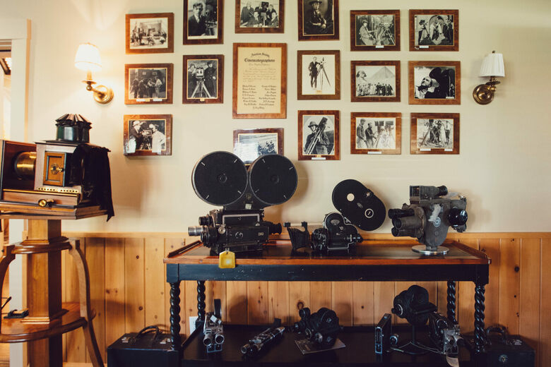 Camera Collection at the American Society of Cinematographers
