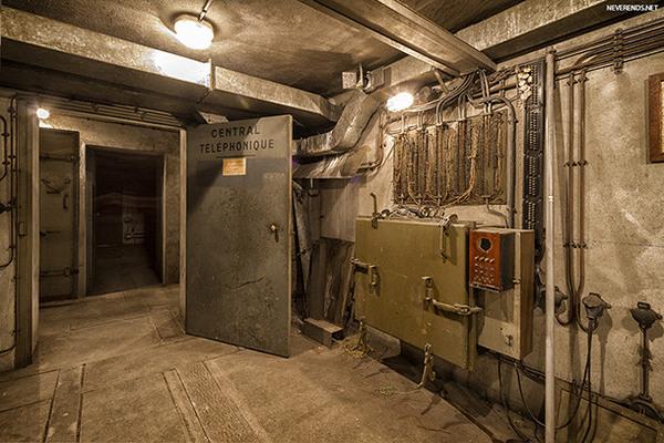 wwii bunker under gare de l 39 est paris france atlas obscura. Black Bedroom Furniture Sets. Home Design Ideas
