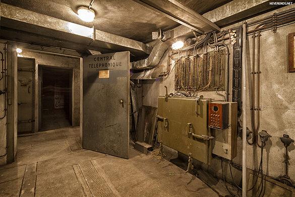 Wwii Bunker Under Gare De L Est Paris France Atlas