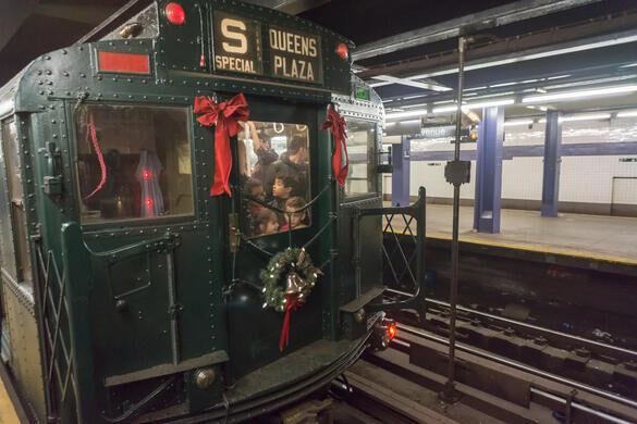 Holiday Nostalgia Train New York New York Atlas Obscura