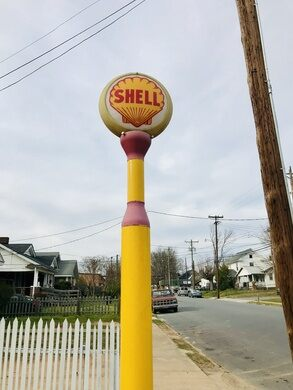 The Last Shell Oil Clamshell Station – Winston-Salem, North