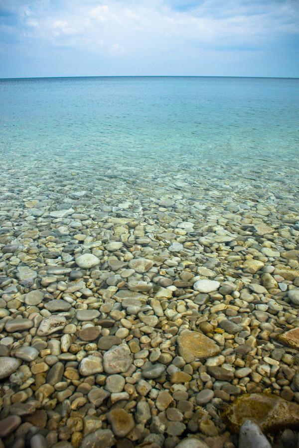 Schoolhouse Beach Washington Island Wisconsin Atlas