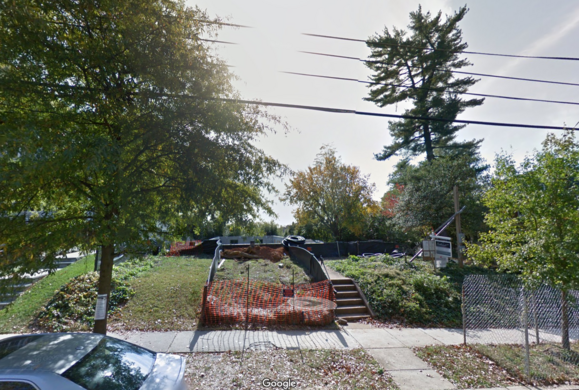 Street View Of The Fbi Tunnel House Bulldozed In 2016 Map Data C 2017 Google