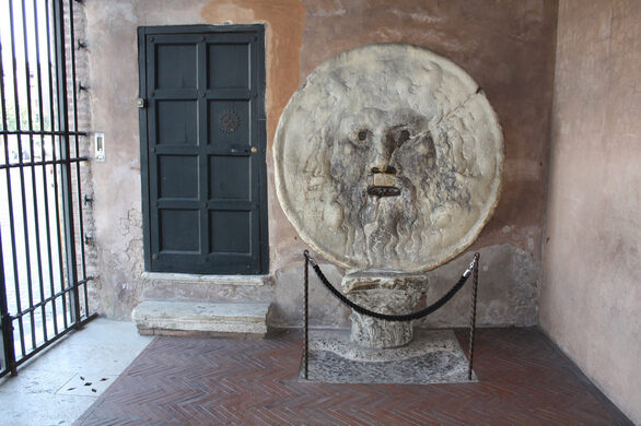 The Mouth Of Truth Rome Italy Atlas Obscura