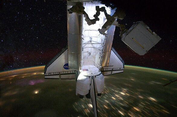 space shuttle endeavour dimensions - photo #23