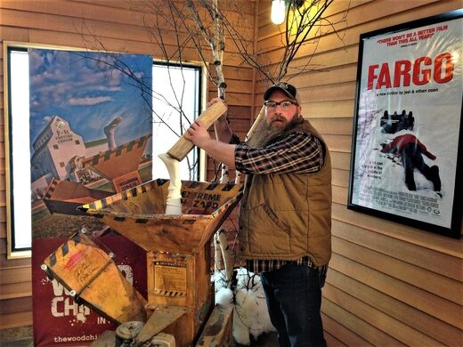 Fargo Wood Chipper Fargo North Dakota Atlas Obscura