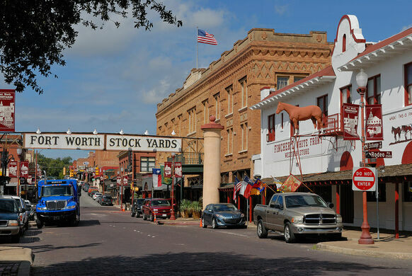 Fort Worth Stockyards Fort Worth Texas Atlas Obscura