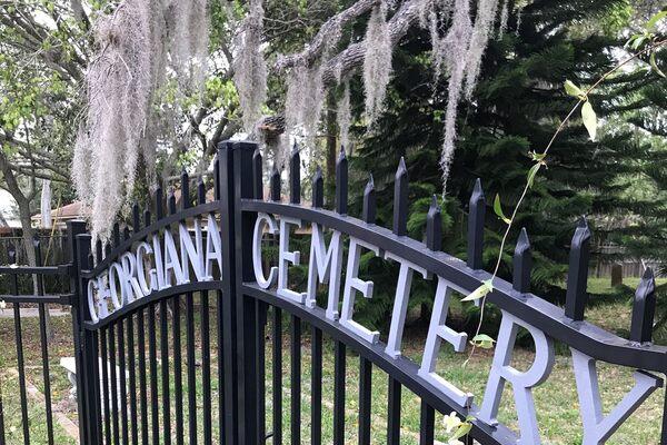 Georgiana Cemetery Merritt Island Florida Atlas Obscura