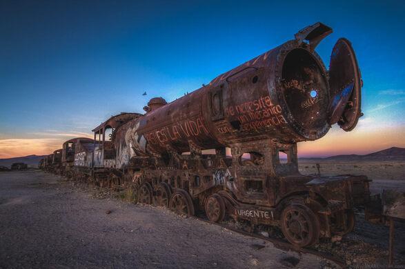 Great Train Graveyard – Uyuni, Bolivia - Atlas Obscura