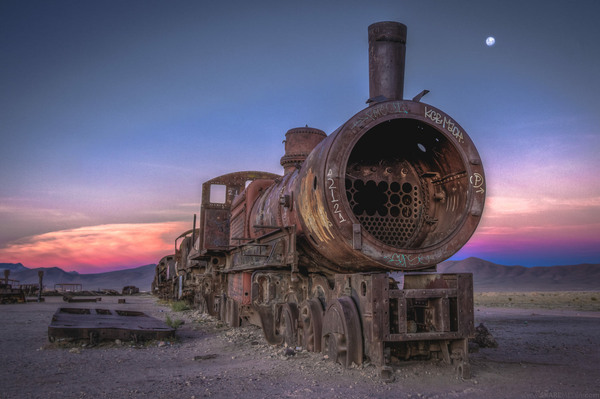 Great Train Graveyard Uyuni Bolivia Atlas Obscura