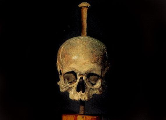 Impaled Skull Of Klaus Stortebeker Hamburg Germany
