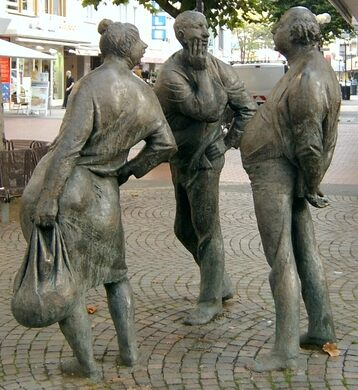The Three Gossips – Giessen, Germany - Atlas Obscura