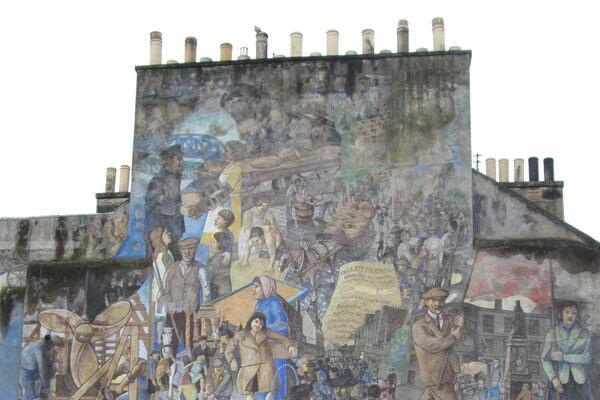 Leith Mural  Edinburgh, Scotland - Atlas Obscura