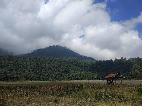 Mount Argopuro in Krucil, Indonesia