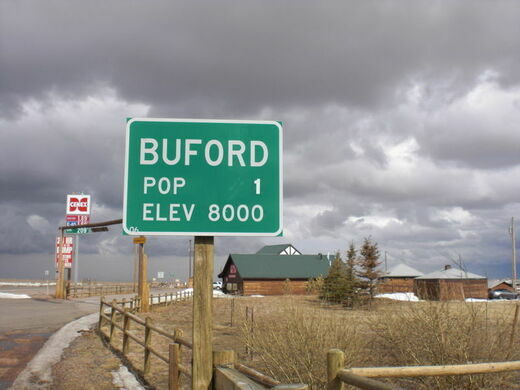 Buford Wyoming Population 1 Buford Wyoming Atlas Obscura