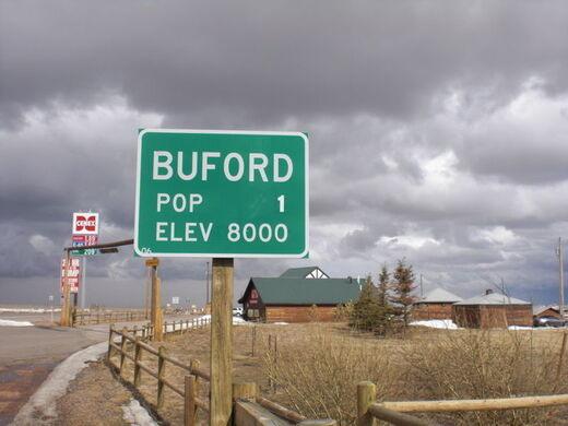 Buford Wyoming Population 1 Buford Wyoming Atlas
