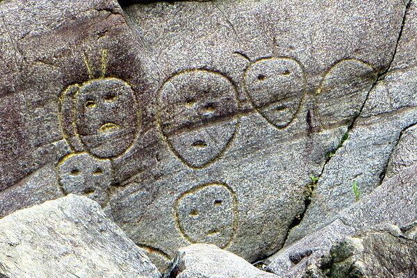 Bellows Falls Petroglyphs Bellows Falls Vermont Atlas