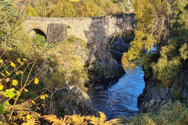 Dulsie Bridge  in Nairn, Scotland