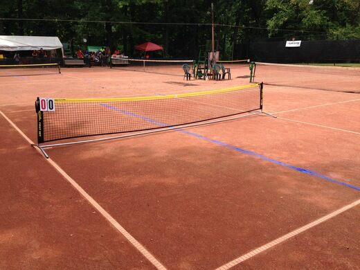 Frick Park Clay Courts Pittsburgh Pennsylvania Atlas Obscura