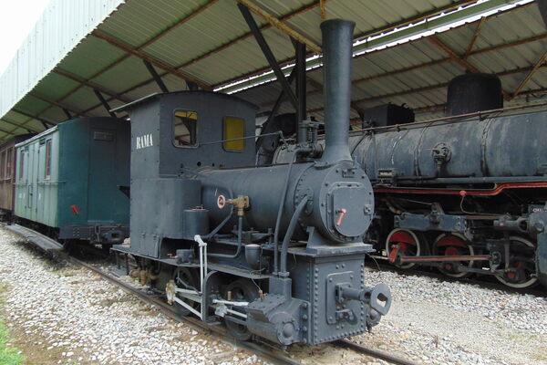 Požega Railway Museum in Požega, Serbia