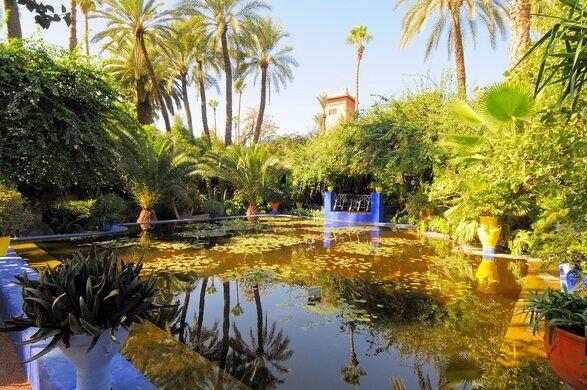 Jardin Majorelle Marrakesh Morocco Atlas Obscura
