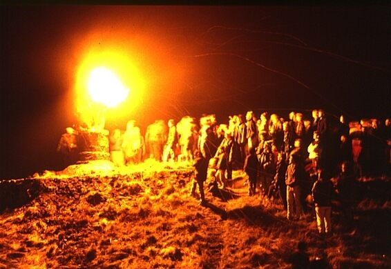The Burning of the Clavie – Burghead, Scotland - Atlas Obscura