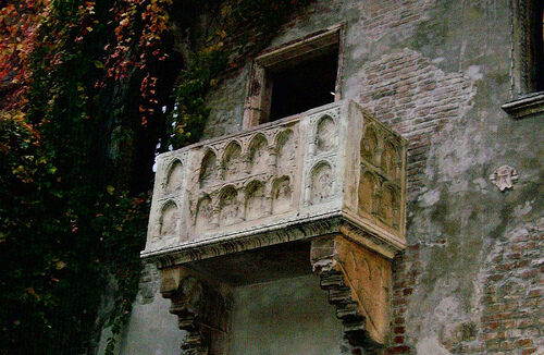 Juliet S Balcony Verona Italy Atlas Obscura