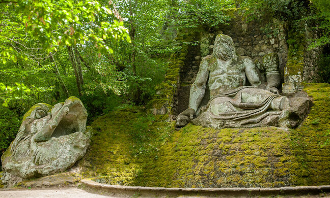 Image result for Gardens of Bomarzo – Italy