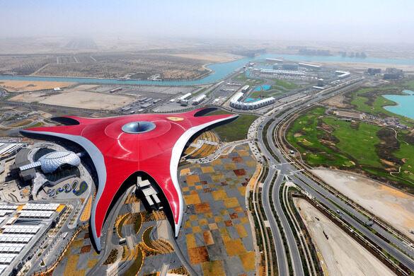 Ferrari World – Abu Dhabi, United Arab Emirates - Atlas Obscura