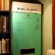 The Biblio-Mat dispenses random used books to delighted readers