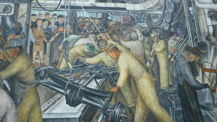 Diego Rivera S Detroit Industry Detroit Michigan Atlas Obscura