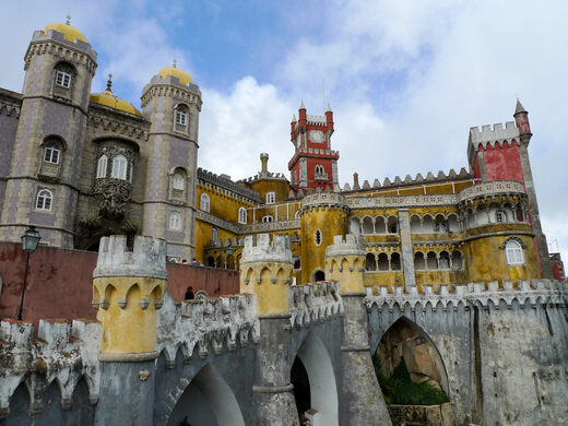 Pena National Palace Sintra Portugal Atlas Obscura