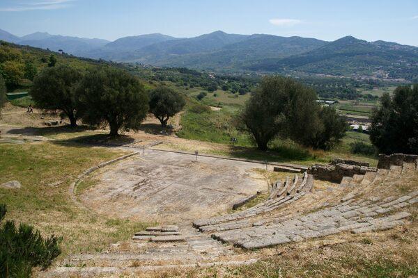 Parco Archeologico di Velia in Marina di Ascea, Italy
