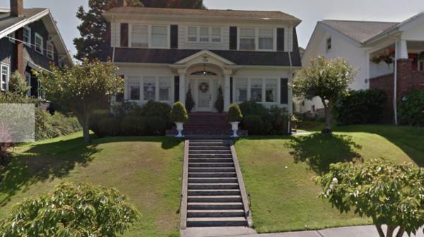 Laura Palmer's House in Everett, Washington