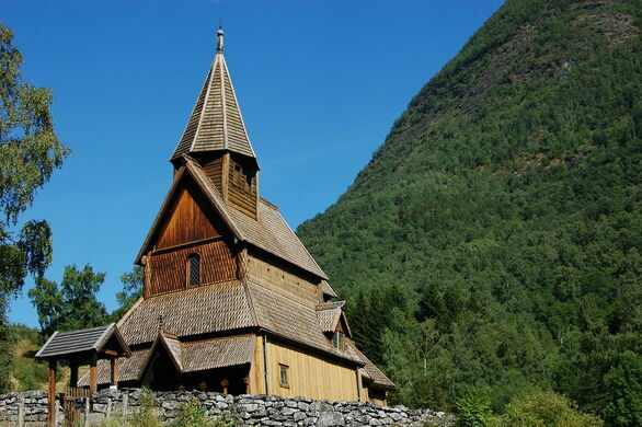 Urnes Stave Church Luster Norway Atlas Obscura - Urnes norway map