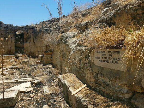 Gerald Lankester Harding's Burial Place in Jarash, Jordan