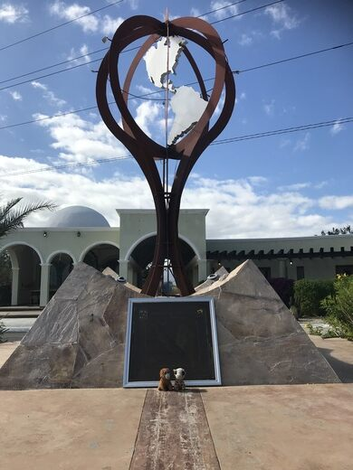 tropic of cancer mexico map Tropic Of Cancer Monument Santiago Mexico Atlas Obscura