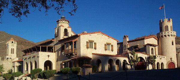 Scotty S Castle Inyo California Atlas Obscura